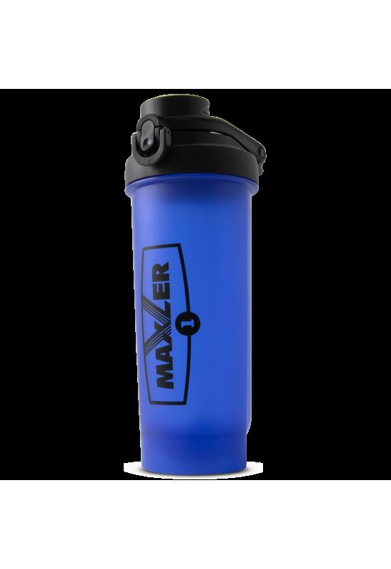 Шейкер Maxler Shaker Pro W/Lock 700 ml Black+Blue