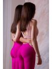 Леггинсы Push-up Berelys Basic розовые