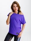 Свободная футболка Eazyway фиолетовая