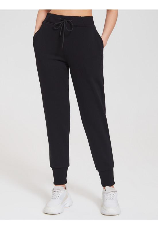 Спортивные брюки Eazyway с манжетами черные