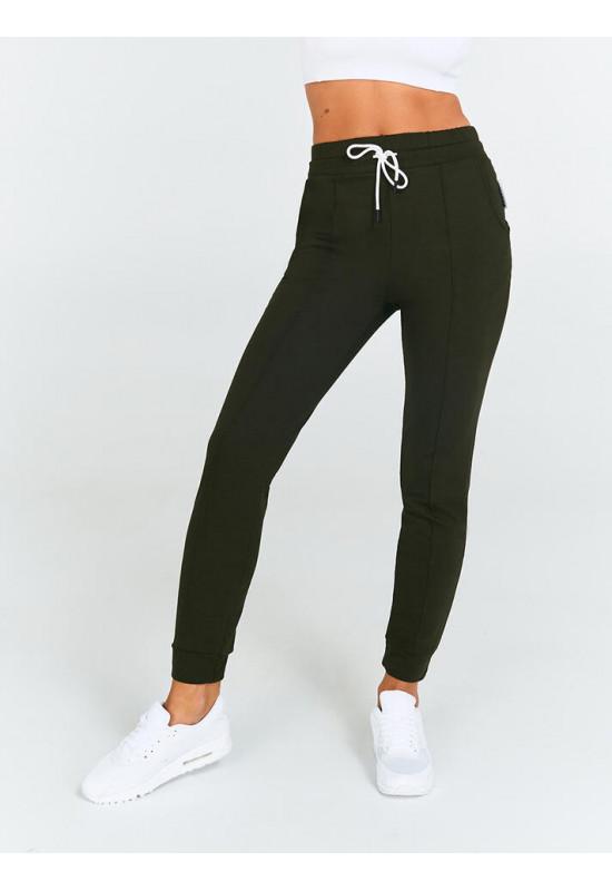 Спортивные зауженные брюки Eazyway хаки