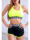 Шорты Euphoria Super short green fluo