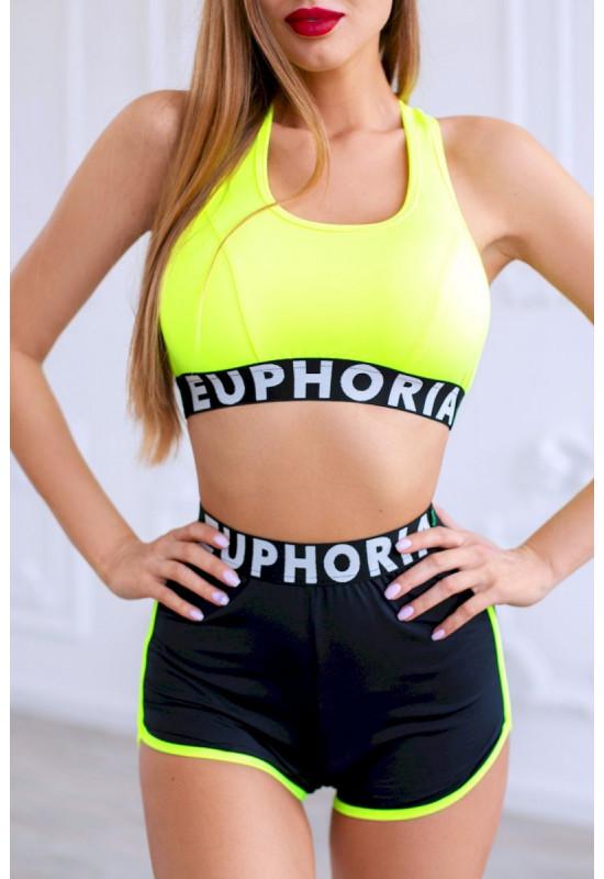 Топ Euphoria JustU green fluo