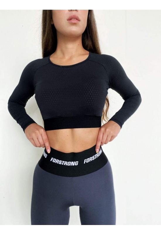 Укроченный рашгард Forstrong Basic Pro Black