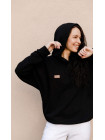 Толстовка Forstrong Basic Oversize Black Fleece