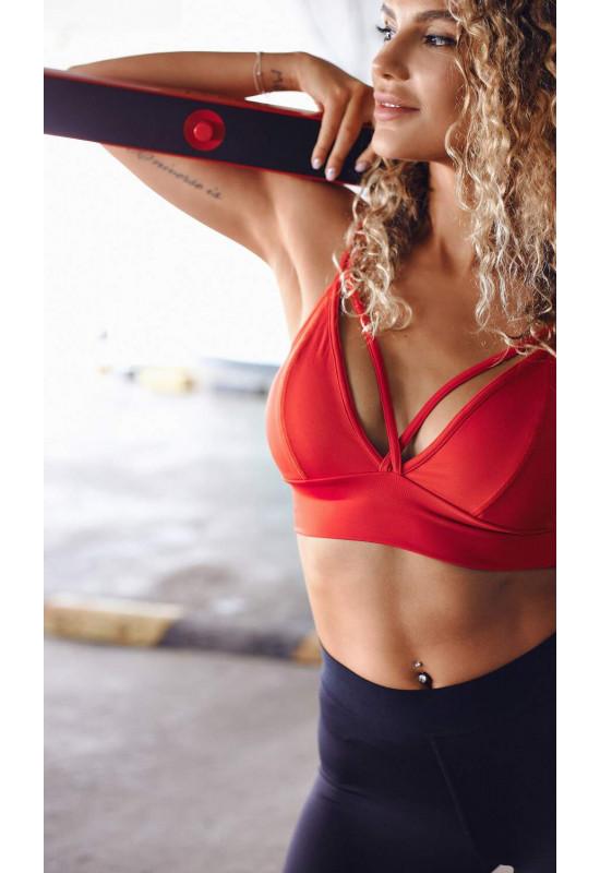 Топ Forstrong Light bra red красный