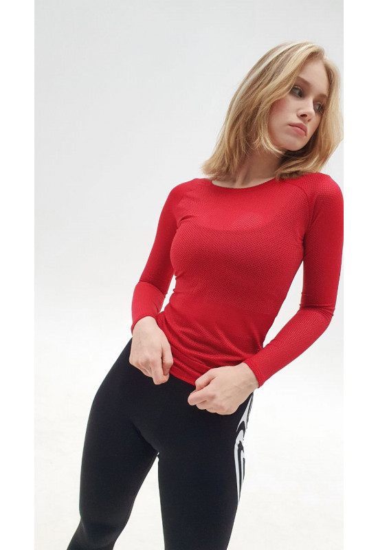 Рашгард Forstrong Red Mesh