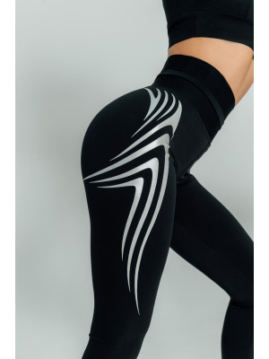 Лосины Forstrong Wings Silver Black DW