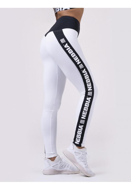 Лосины NEBBIA Power Your Hero iconic leggings 531 WHITE
