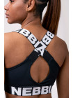Топ NEBBIA Power Your Hero iconic sports bra 535 BLACK