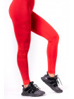 Лосины Nebbia One tone pattern leggings red красные