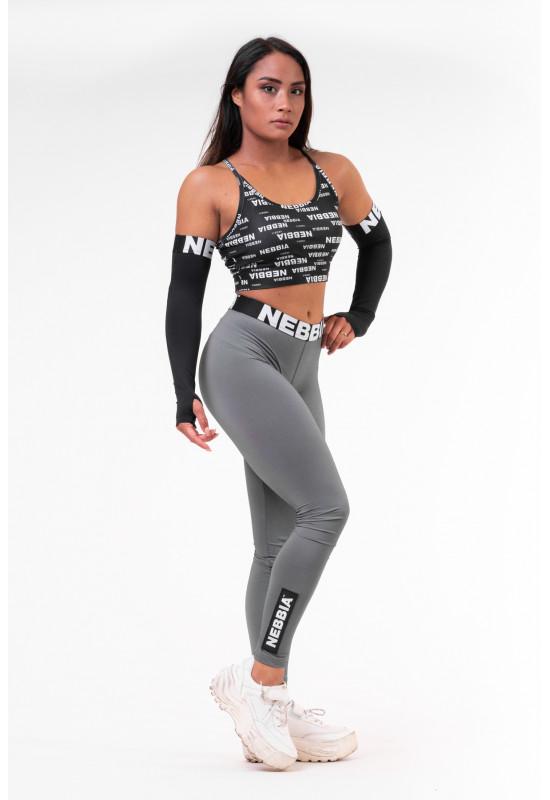 Женские лосины Nebbia 691 grey