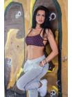 Спортивные штаны Nebbia Velvet boyfriend pants 649 светло-серый
