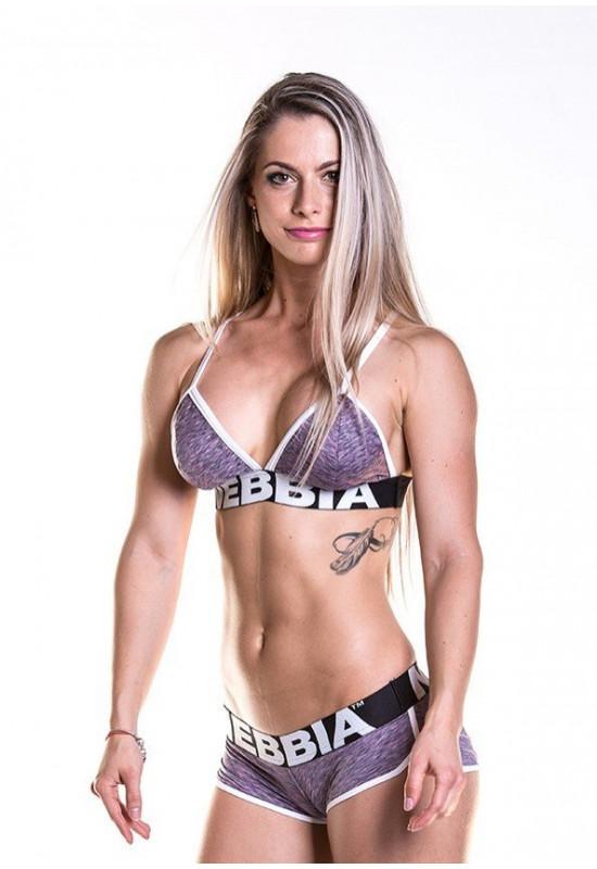 Топ Nebbia Fitness bra 267 лиловый