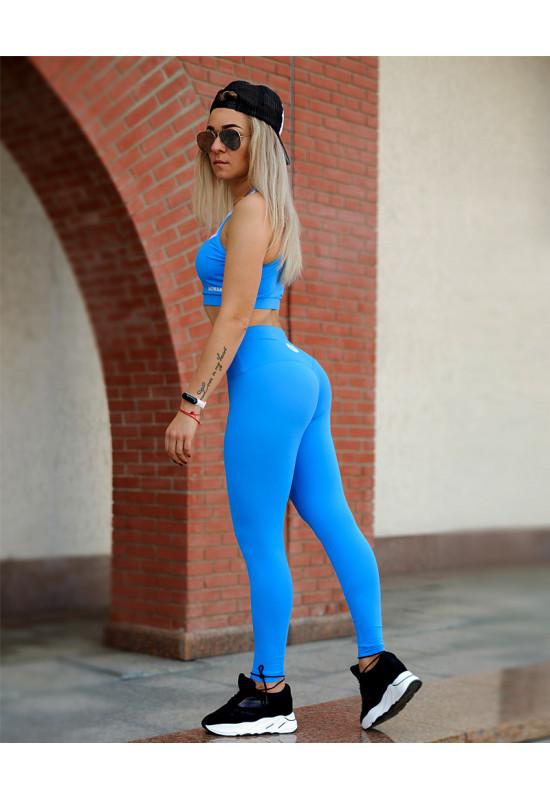 Леггинсы для фитнеса Rowan Basis синие
