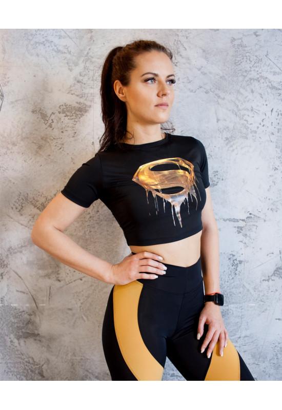 Короткая футболка Rowan Superman Gold