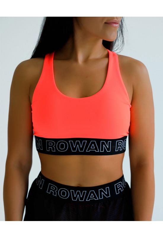 Топ-бра Rowan Classic brand оранжевый