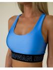 Спортивный топ Rowan Classic brand голубой блеск