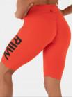 Велосипедки Ryderwear Neonude scrunch bum bike shorts tangerine